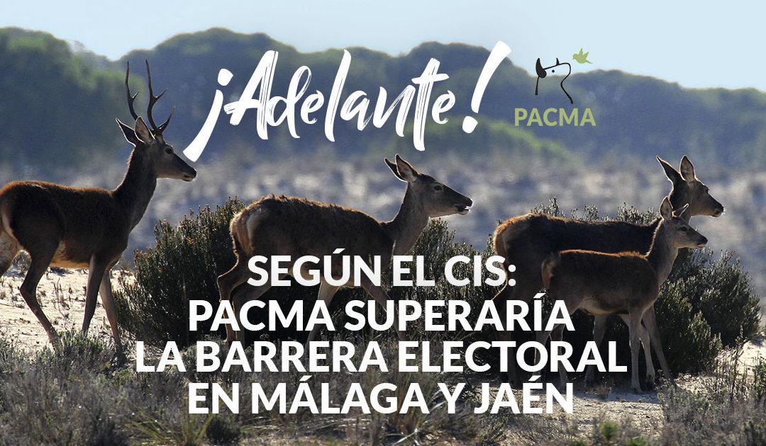 Según el CIS, PACMA podría entrar en el reparto de hasta 2 escaños en Andalucía